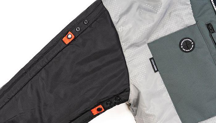 Grow-Up System - adjust sleeve or leg length by 7 cm