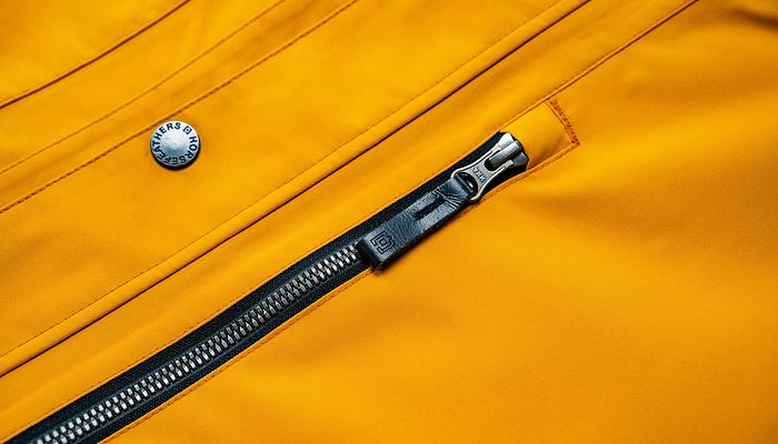 YKK - durable, easy to use, high quality zippers