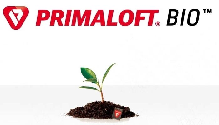 PrimaLoft Bio - 100 % recycled, biodegradable synthetic fiber