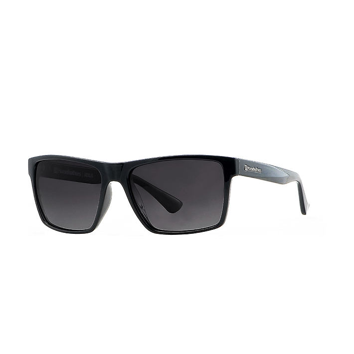 Merlin sunglasses - gloss black/gray fade out