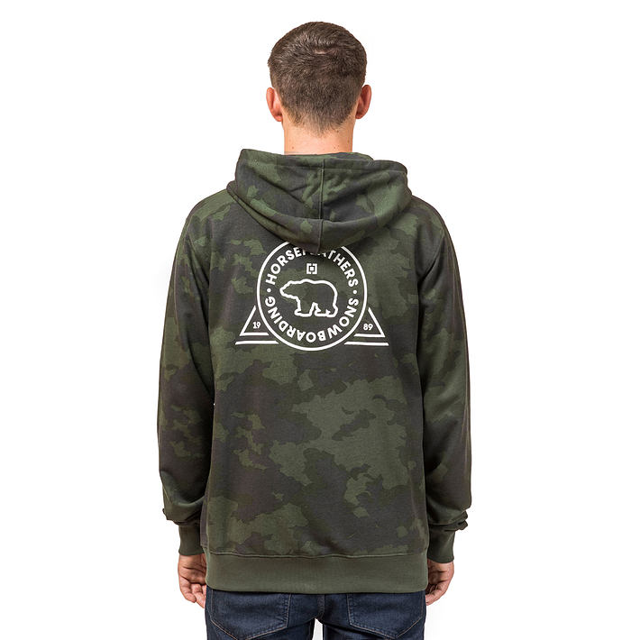 Grizzly hoodie - cloud camo