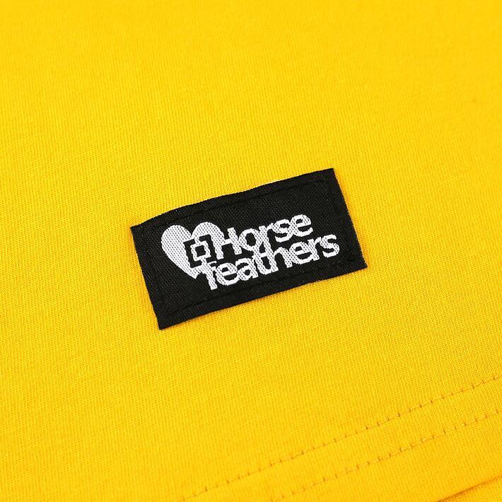 Horsefeathers šaty Viola citrus - label