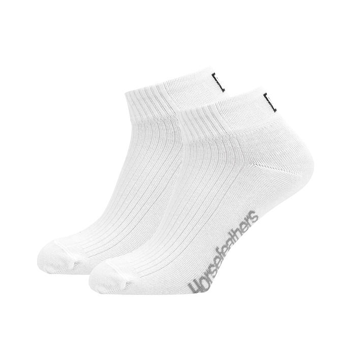 Horsefeathers ponožky Run 3pack white