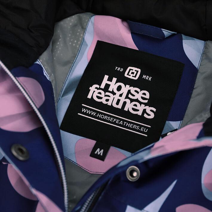 Horsefeathers bunda Adele paradise - vnitřní label