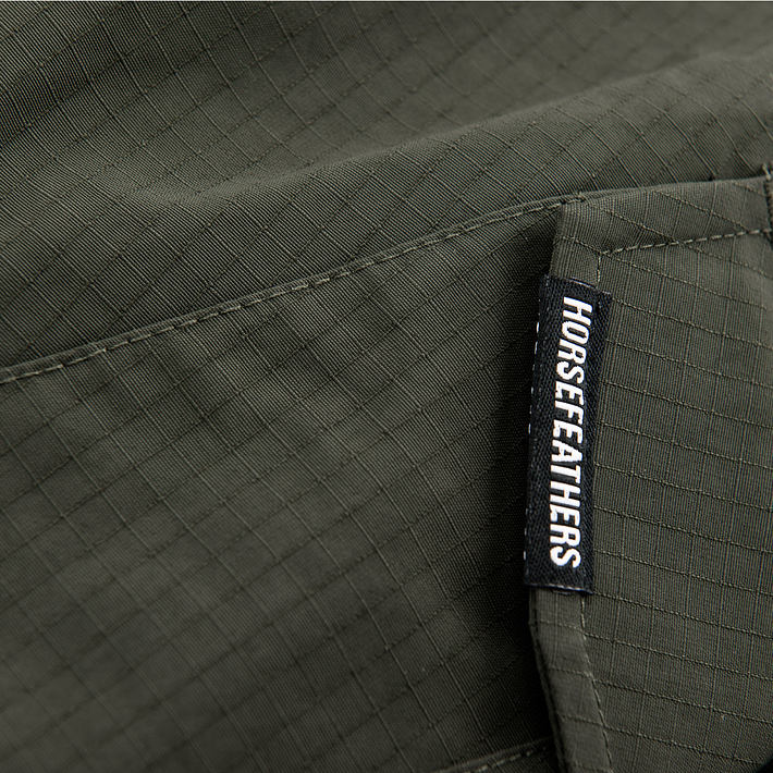 Barge pants - olive ripstop
