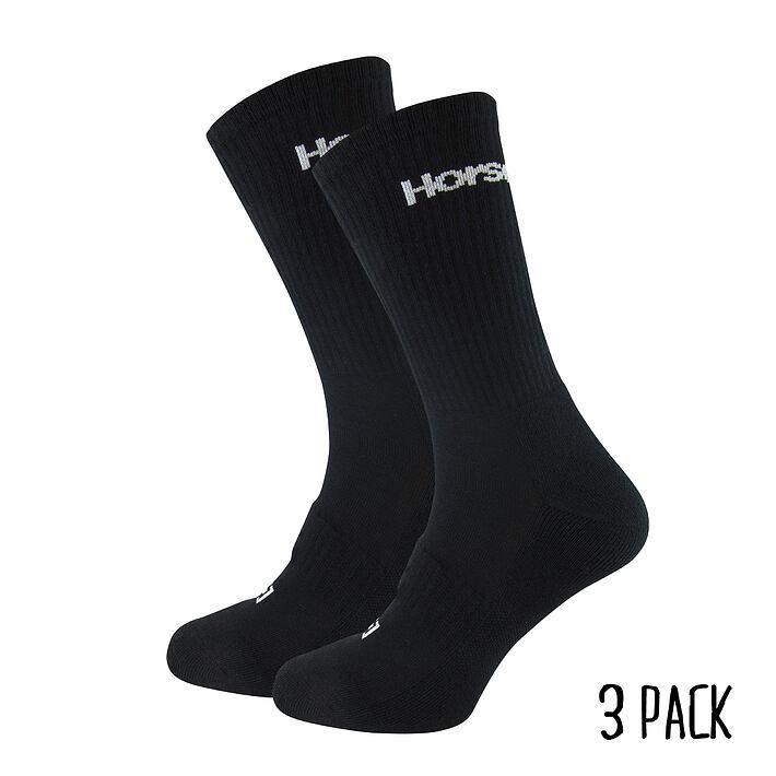 Delete Premiun 3Pack socks - black