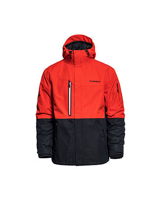 Ripple jacket - fiery red