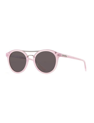 Nomad sunglasses - gloss rose/mirror champagne