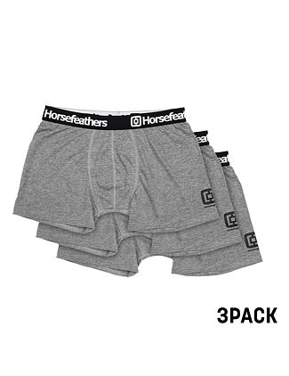 Dynasty 3Pack boxer briefs - heather gray