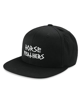 Heath cap - black