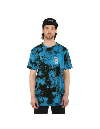 Mini Logo t-shirt - blue tie dye