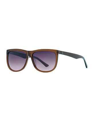 Gabe sunglasses - gloss bronze/violet fade out