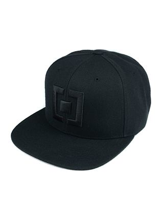 Icon cap - all black