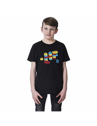 Bricks Youth t-shirt - black