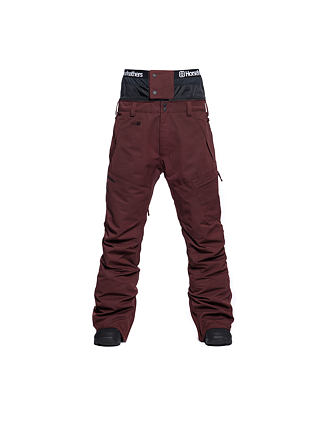 Charger pants - raisin
