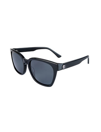 Chester sunglasses - gloss black/gray