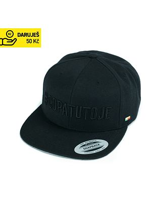 COPATUTOJE snapback cap - all black