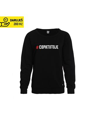COPATUTOJE wmns crew sweater - black