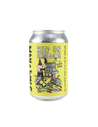 Man & Wolf lager 330ml can - maw