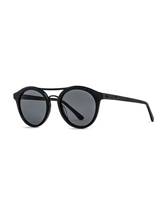 Nomad sunglasses - brushed black/gray