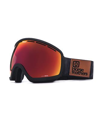 HF x Melon Optics Chief goggles - gray camo/red chrome