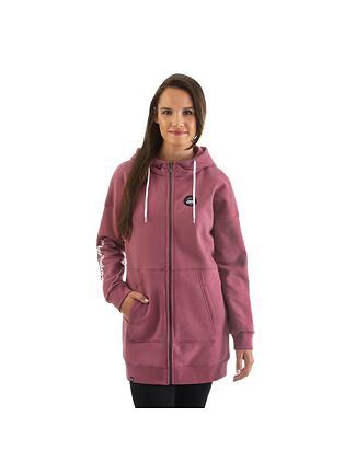 Cardi hoodie - mauwe