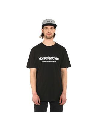 Quarter t-shirt - black