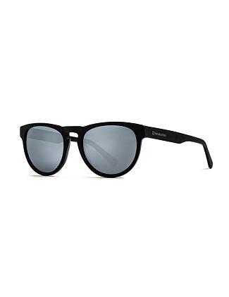 Ziggy sunglasses - brushed black/mirror white