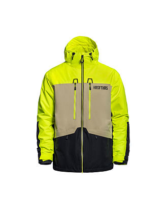 Crescent atrip jacket - limeade
