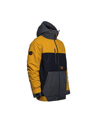 Revel jacket - golden yellow