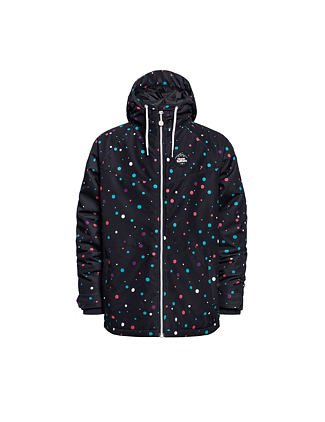 Sadie Youth jacket - rainbow dots