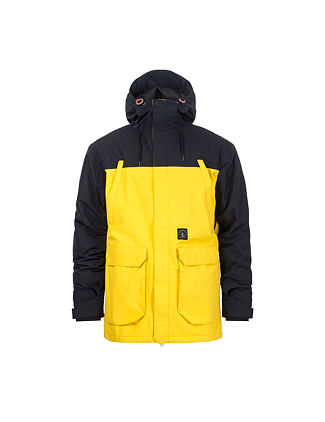 Cordon atrip jacket - lemon