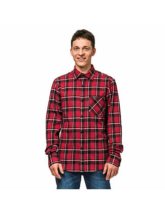 Rashid shirt - cardinal red