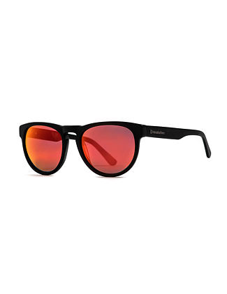 Ziggy sunglasses - matt black/mirror red
