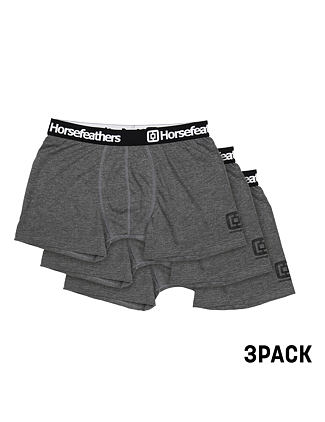 Dynasty 3Pack boxer briefs - heather anthracite