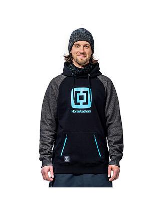Sherman Eiki hoodie - cracked black