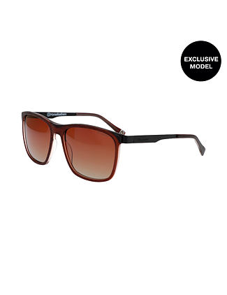 Aaron sunglasses - brushed brown/brown fade out