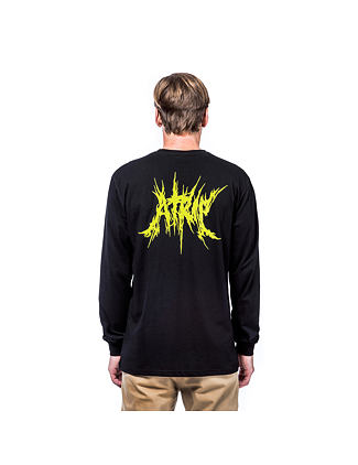Elvin atrip t-shirt - black