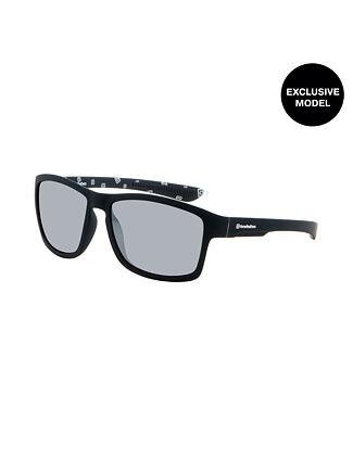 Skeet sunglasses - matt black/mirror white