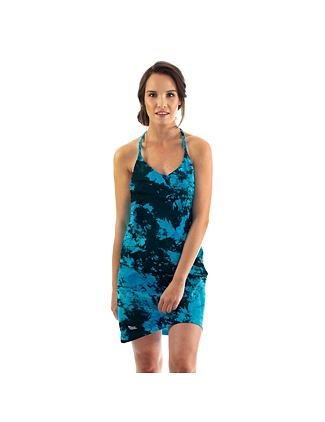Viola dress - blue tie dye