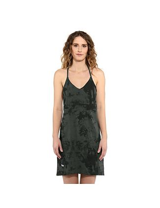 Viola dress - gray tie dye