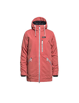 Ingrid jacket - spiced coral