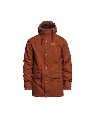 Preston jacket - leather brown