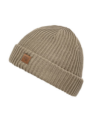 Again beanie - dull gold