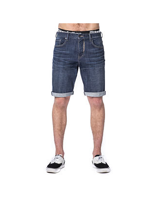 Pike jeans shorts - dark blue
