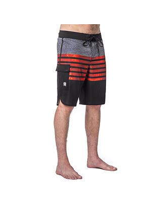 Gus boardshorts - red
