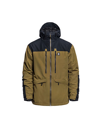 Crescent jacket - dull gold
