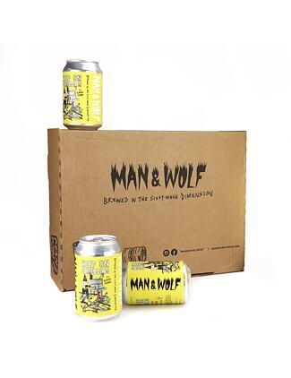 Man & Wolf lager box (20 pcs) - maw