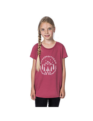 Joan Youth t-shirt - garnet rose