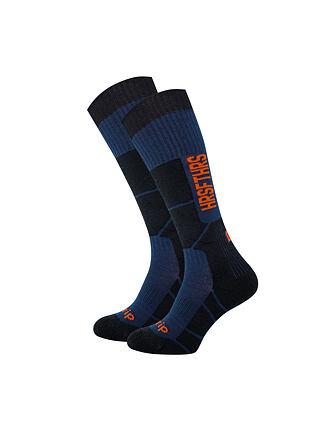 Seth atrip Thermolite snowboard socks - eclipse